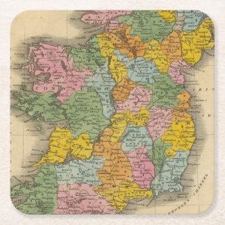 Ireland 10 square paper coaster