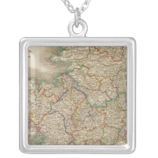 Ireland 12 silver plated necklace