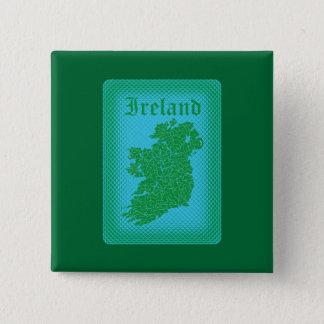 Ireland 15 Cm Square Badge