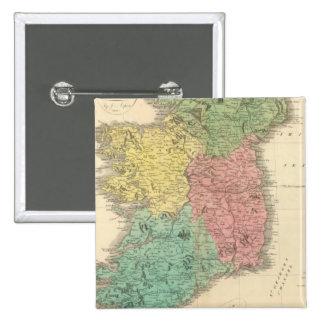 Ireland 16 15 cm square badge