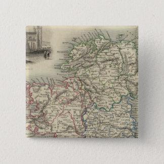 Ireland 17 15 cm square badge