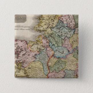Ireland 2 15 cm square badge