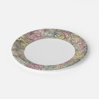Ireland 3 7 inch paper plate