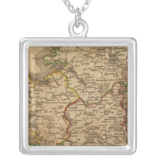 Ireland 4 silver plated necklace