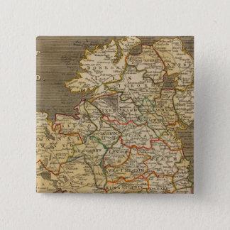 Ireland 8 15 cm square badge
