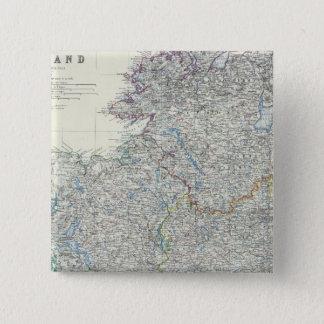 Ireland 9 15 cm square badge