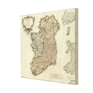 Ireland and England Canvas Print