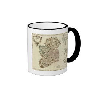 Ireland and England Coffee Mugs