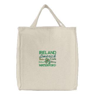 Ireland and Irish Cities Tote Bag