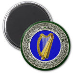 Ireland Arms 6 Cm Round Magnet
