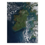 Ireland As Seen From The ISS Poster