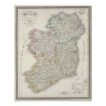 Ireland Atlas map Poster
