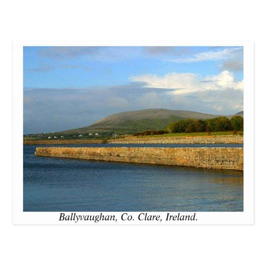 Ireland - Ballyvaughan, County Clare Postcard