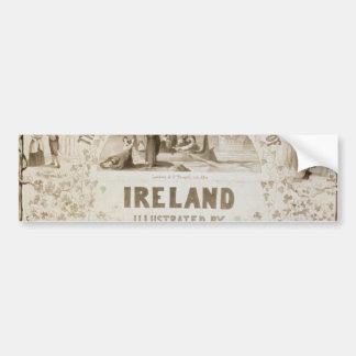Ireland, by 'Mac Evoy's Original Hibernicon' Bumper Stickers
