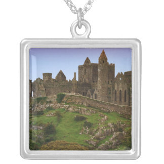 Ireland, Cashel. Ruins of the Rock of Cashel 2 Silver Plated Necklace