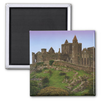 Ireland, Cashel. Ruins of the Rock of Cashel 2 Square Magnet