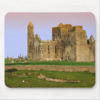 Ireland, Cashel. Ruins of the Rock of Cashel Mouse Mat
