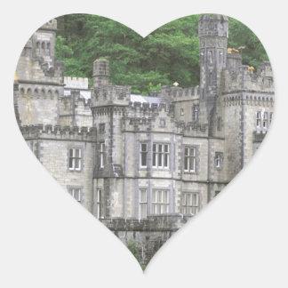 Ireland Castle Heart Sticker