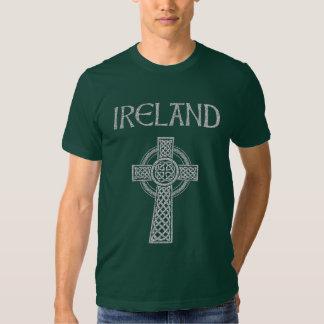 Ireland Celtic Cross T-shirts
