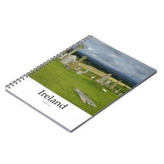 Ireland Cemetery Rock Of Cashel Libro De Apuntes Con Espiral