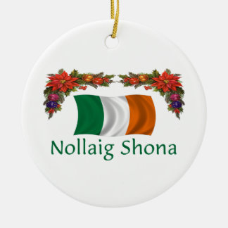 Ireland Christmas Christmas Ornament