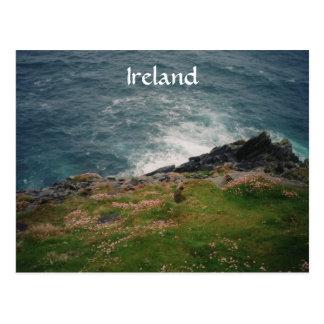 Ireland coast postcard