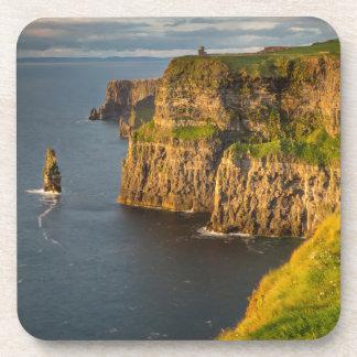 Ireland coastline at sunset coaster