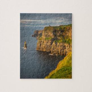Ireland coastline at sunset jigsaw puzzle