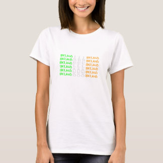 Ireland - Colours of the Irish Tricolour Flag T-Shirt