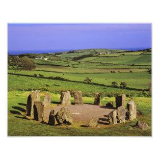 Ireland, County Cork. The Dromberg Stone Photo Print