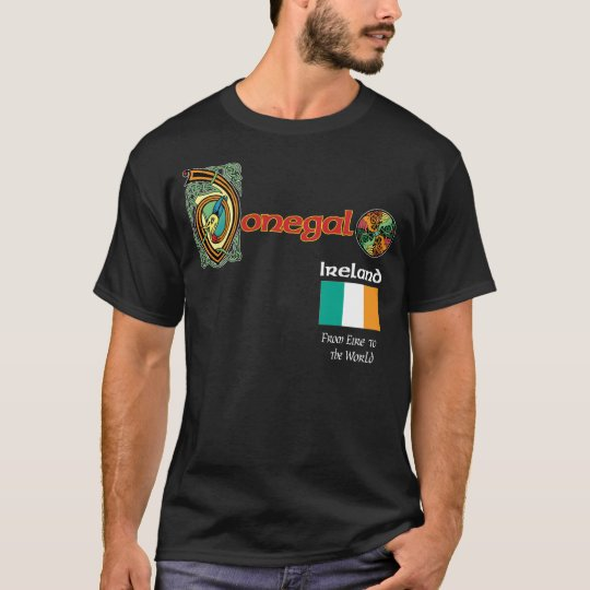 Ireland County Donegal Dark T Shirt