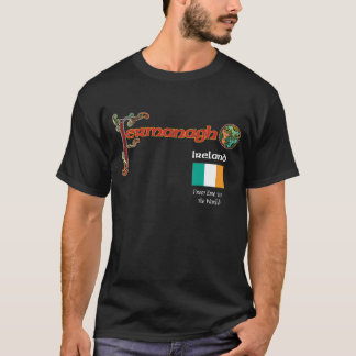 Ireland County Fermanagh Dark T Shirt