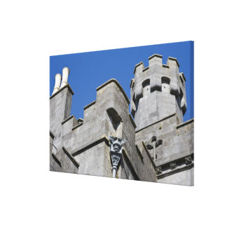 Ireland, County Kilkenny, medieval castle. Stretched Canvas Print