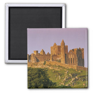 Ireland, County Tipperary. View of the Rock of 2 Square Magnet