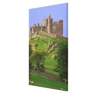 Ireland, County Tipperary. View of the Rock of Canvas Print