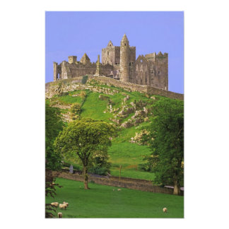 Ireland, County Tipperary. View of the Rock of Art Photo