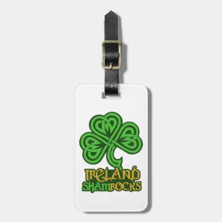 Ireland custom luggage tag