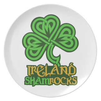 Ireland custom plate