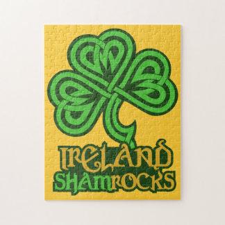 Ireland custom puzzle