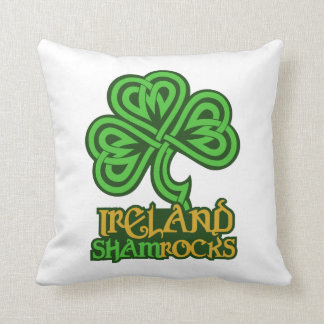 Ireland custom throw pillow