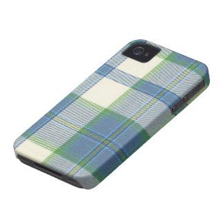 Ireland Dress Blue Tartan iPhone 4/4S Case-Mate Ca