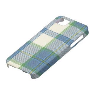 Ireland Dress Blue Tartan iPhone 5 Case-Mate Ca