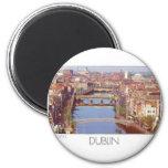 Ireland Dublin River Liffey (St.K.) Refrigerator Magnet
