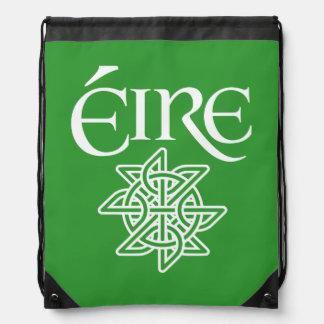 Ireland Éire Decorative Celtic Knot Irish Gaelic Backpacks