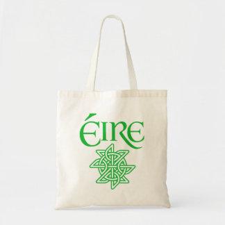 Ireland Éire Decorative Celtic Knot Irish Gaelic Bag