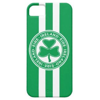 Ireland Éire Shamrock Green and White Case For The iPhone 5