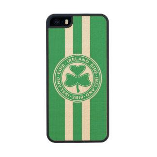 Ireland Éire Shamrock Green and White iPhone 6 Plus Case