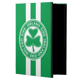 Ireland Éire Shamrock Green and White Powis iPad Air 2 Case