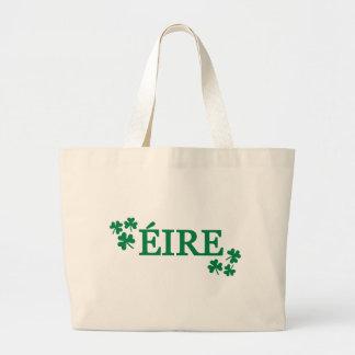 Ireland Eire shamrocks Bags