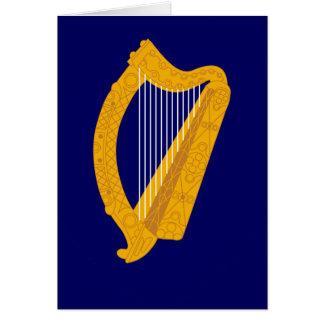 ireland emblem card